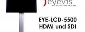 """Der 55"""" Full HD LCD Monitor von eyevis - das Einstiegsmodell im professionellen LCD Bereich"""