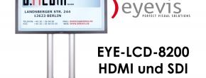Professioneller LCD-Bildschirm mit S-PVA TFT-Technologie