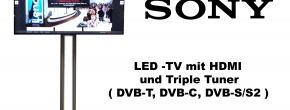 "Sony 65"" HD LED TV mit Triple Tuner"