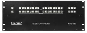 dünner und leichter DVI Matrix Switcher