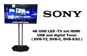 """Sony 65"""" 4K UHD LED TV"""